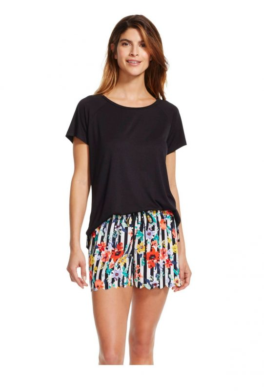 Stylish Sleepwear Gilligan & O'Malley Tee Shorts Pajama Set