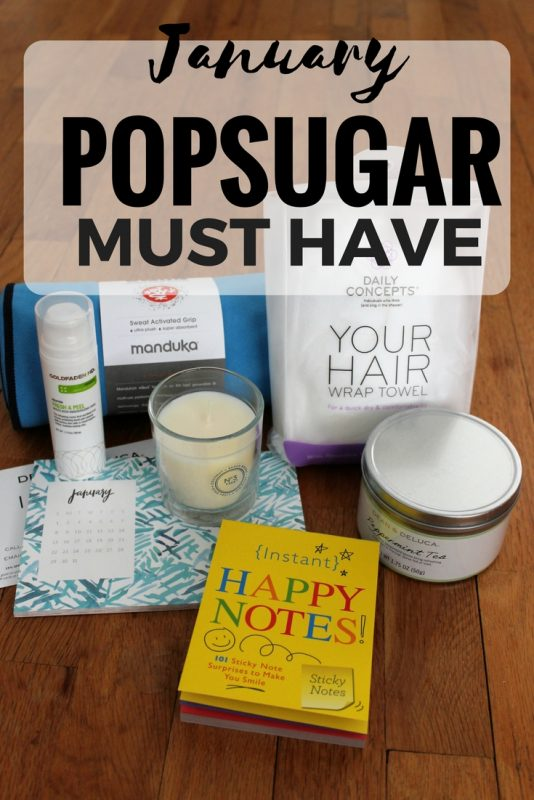 A review of the 2017 January POPSUGAR Must Have Box on JK Style