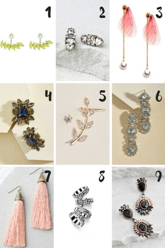 Affordable Statement Earrings on JK Style