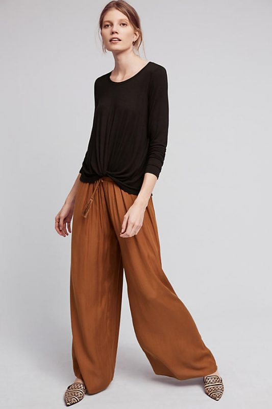 Anthropologie Under $100 Agency Twist Front Top