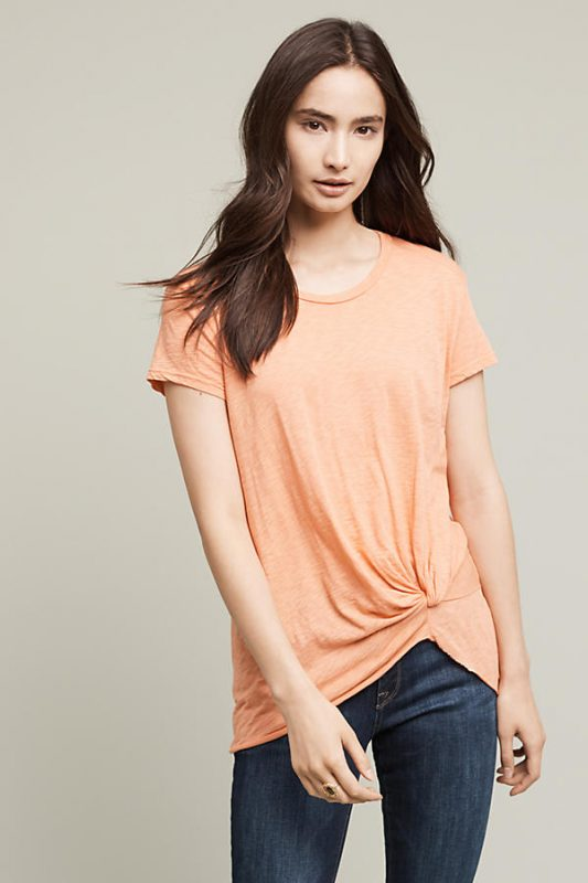 Anthropologie Under $100 Gathered Tee