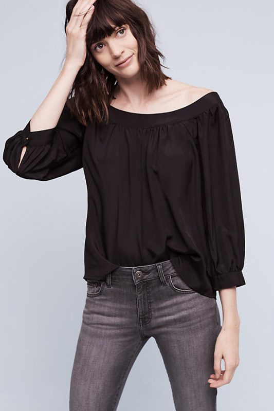 Anthropologie Under $100 Yanna Off the Shoulder Top
