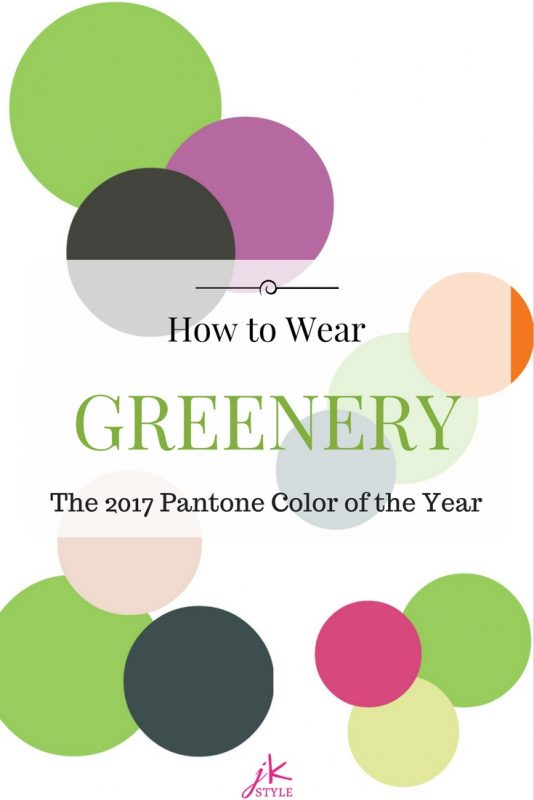 How to Wear Greenery the 2017 Pantone color of the year
