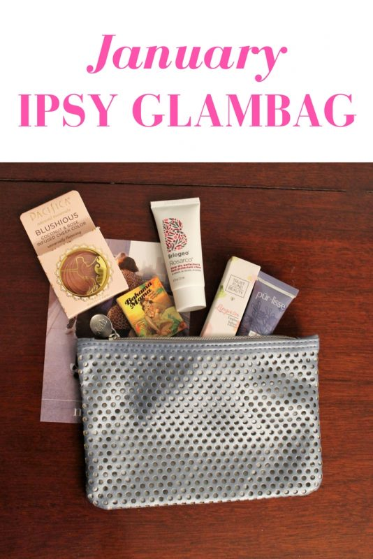 A review of the January Ipsy Glambag