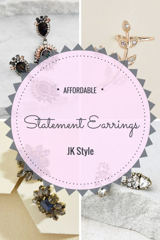 Nine pair of super affordable statement earrings you'll love on JK Style!