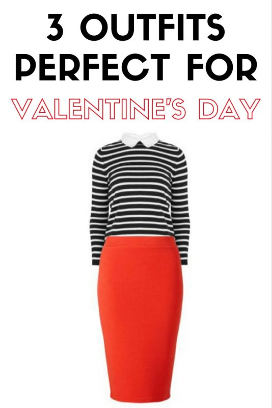 3 outfits that will be perfect for Valentine's Day on JK Style