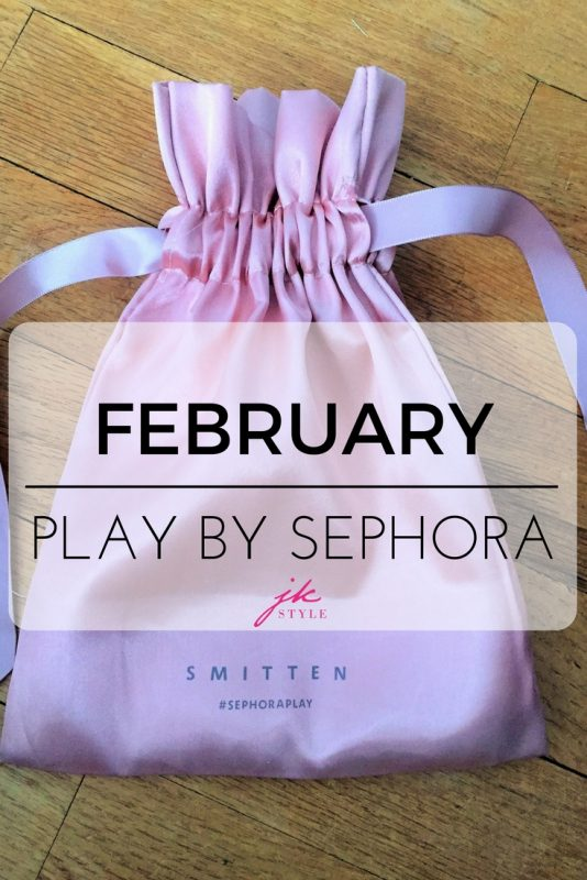 February Play by Sephora box review on JK Style