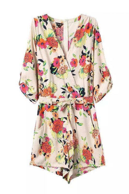 Goodnight Macaroon Favorites Under $50 Liz Flower Power Print Romper