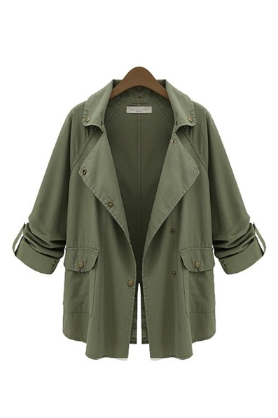 Goodnight Macaroon Favorites Under $50 Military Green Parka Jacket