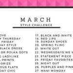 March Style Challenge on JK Style