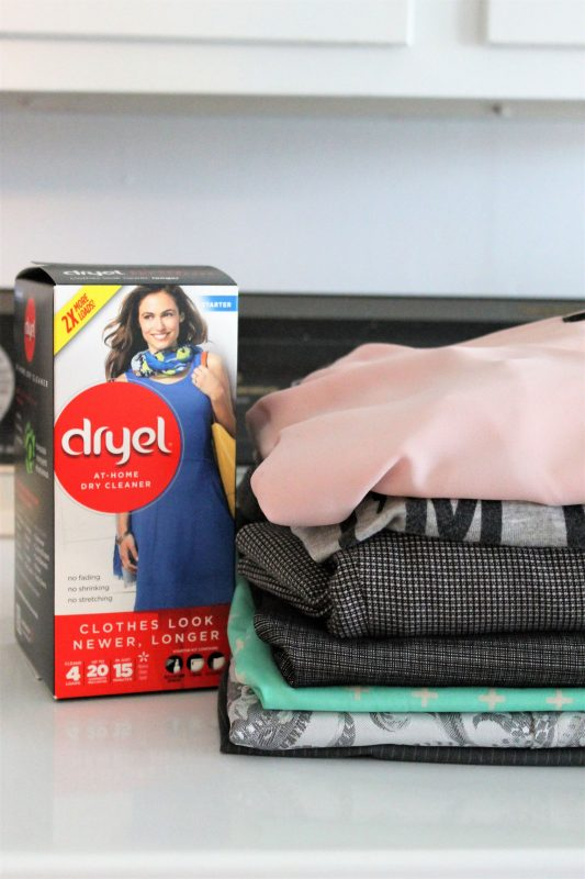 Dryel 101 Dry Cleaning Clothes at Home on JK Style