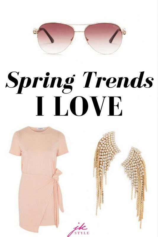 Spring Trends I love on JK Style