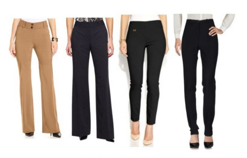 Spring workwear Basics pants