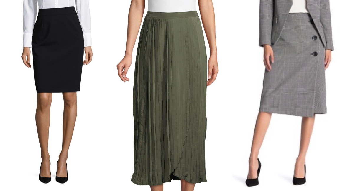 spring workwear skirts - JK Style