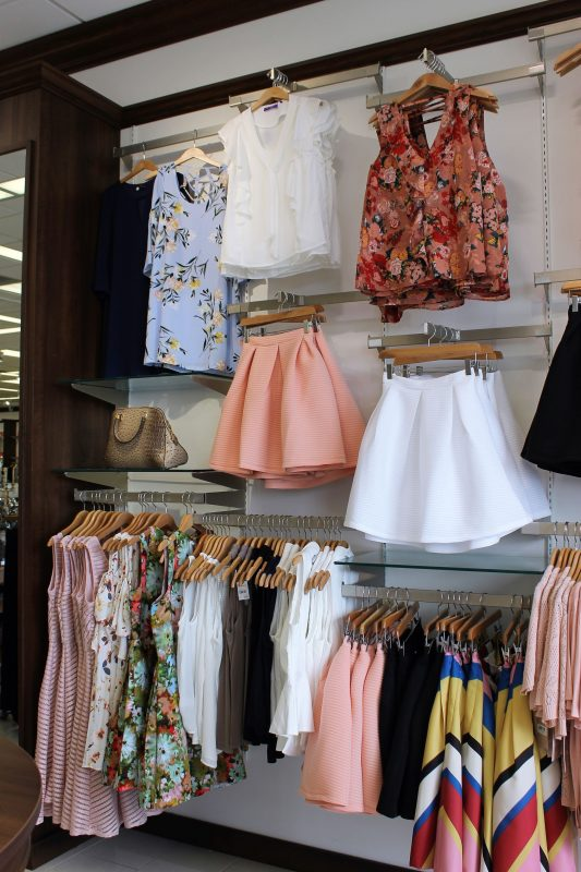 spring style at Versona - floral tops and spring styles - JK Style