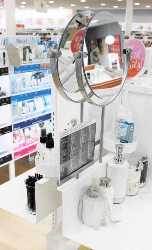 Ulta Beauty in Yukon - tester station - JK Style