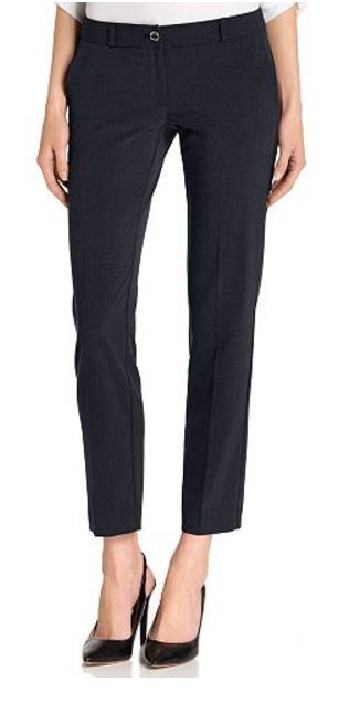 Under $40 Michael Kors navy ankle pants