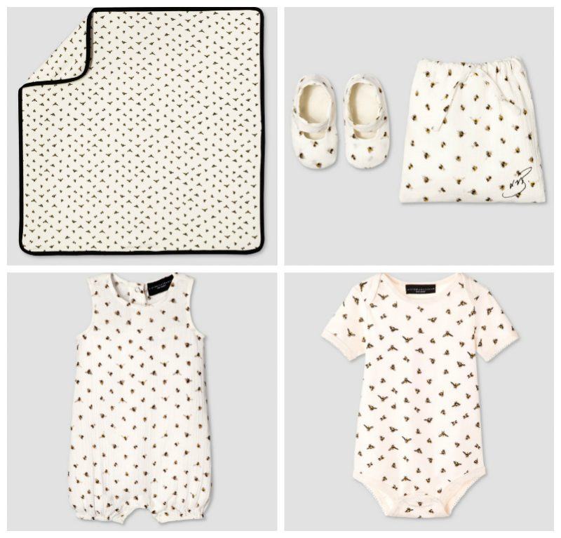 Victoria Beckham for Target - Baby Bee Print