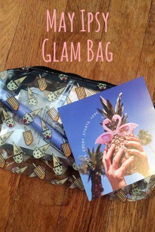 May Ipsy Glam Bag - JK Style