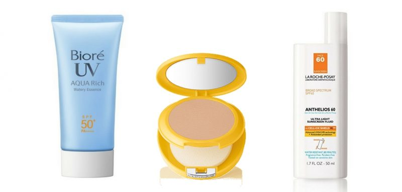 Friday Favorites - 3 Sunscreens That Won't Leave You Feeling Oily on Splendry