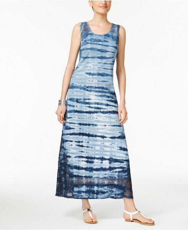 Tie-Dyed-Maxi-Dresses-Under-$50