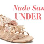 Nude Sandals under $40