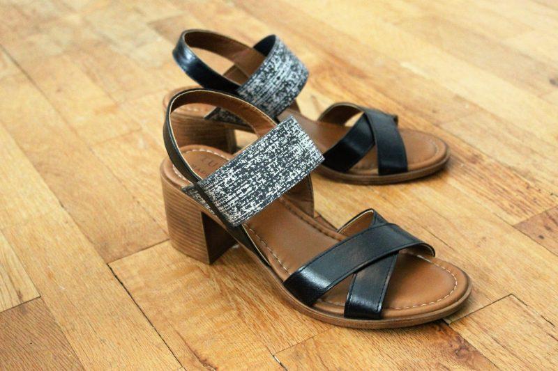 block heel sandals from The Scarpetta - JK Style