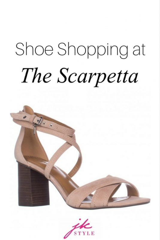 shoe shopping at The Scarpetta - JK Style