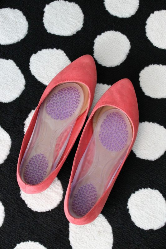 women's flats with Dr. Scholl's Stylish Step inserts