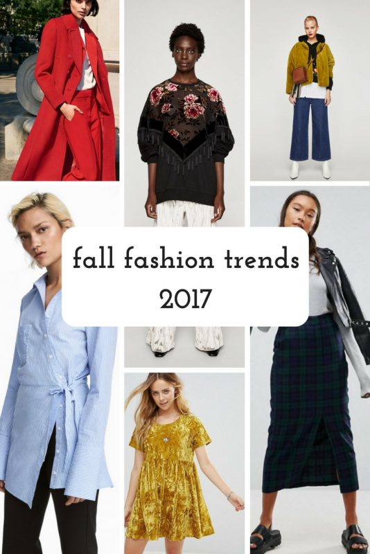 fall fashion trends on JK Style