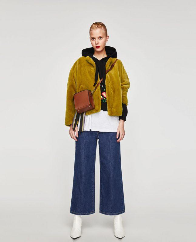 Faux fur jacket - fall fashion trends on JK Style
