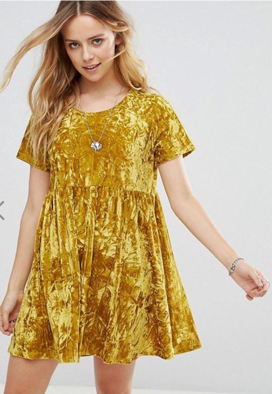 velvet dress - fall fashion trends - JK Style