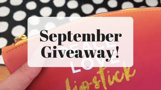 Friday favorites September giveaway