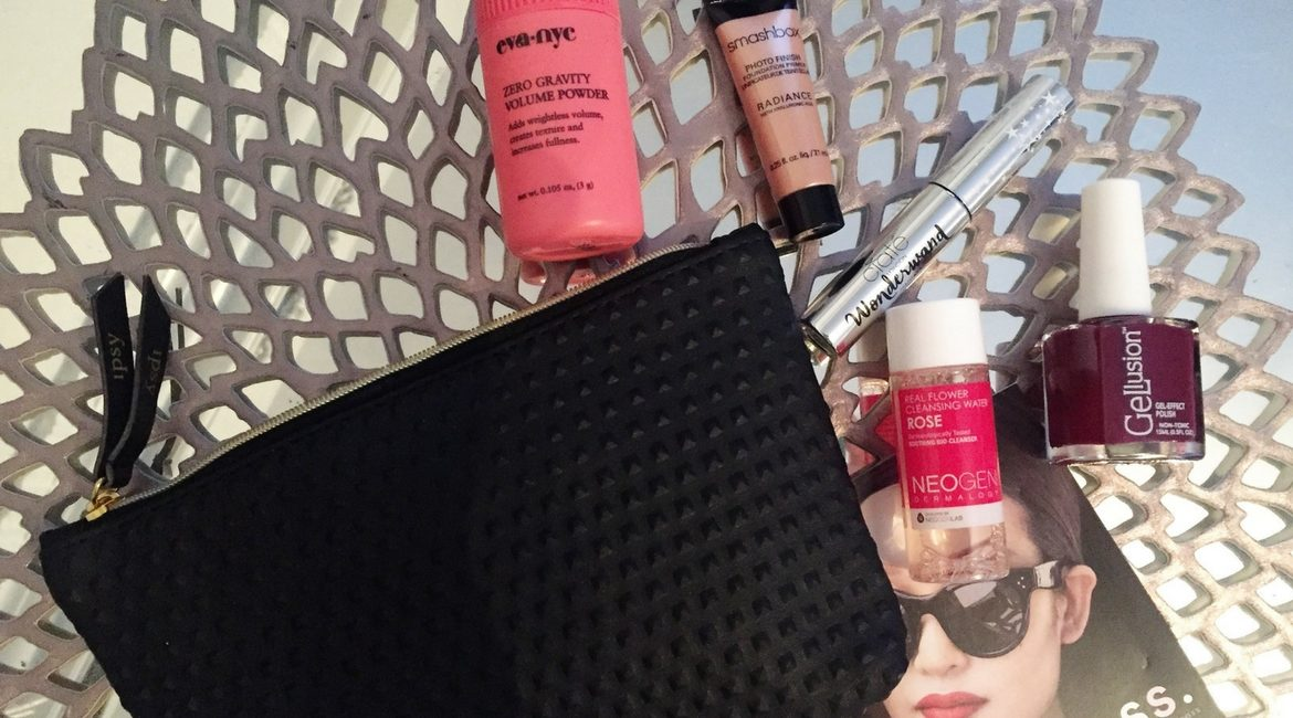 review of the September Ipsy Glam Bag on JK Style
