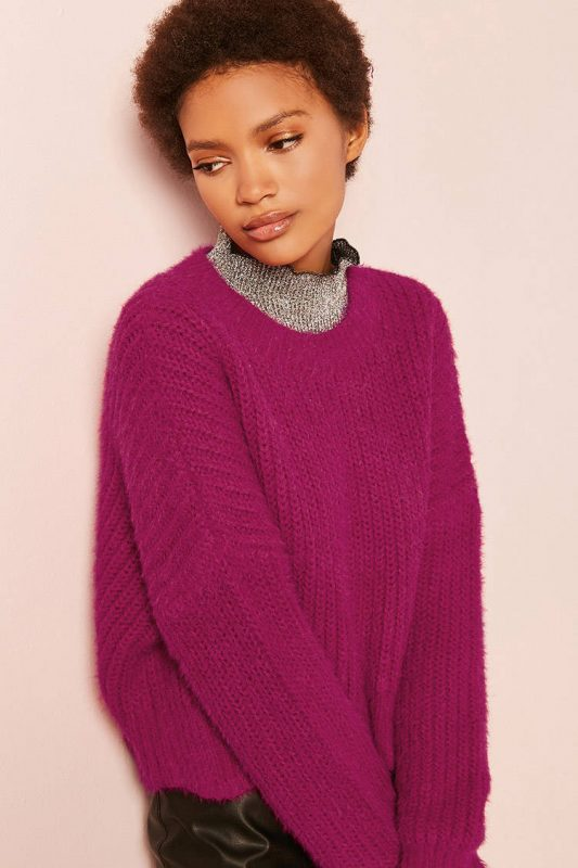 ribbed knit sweater - shopping Forever 21 when you're not 21 - JK Style