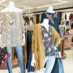 fall fashion display at Versona in Oklahoma City - JK Style