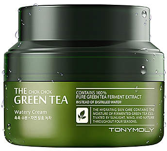 Tony Moly The Chok Chok Green Tea Watery Cream - Friday Favorites - JK Style