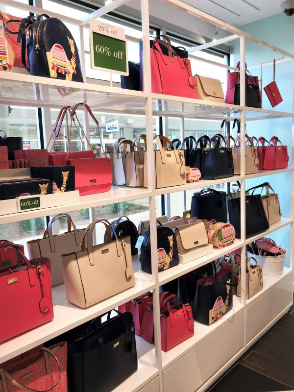 Kate Spade grand opening in Oklahoma City - OKC Outlets - JK Style