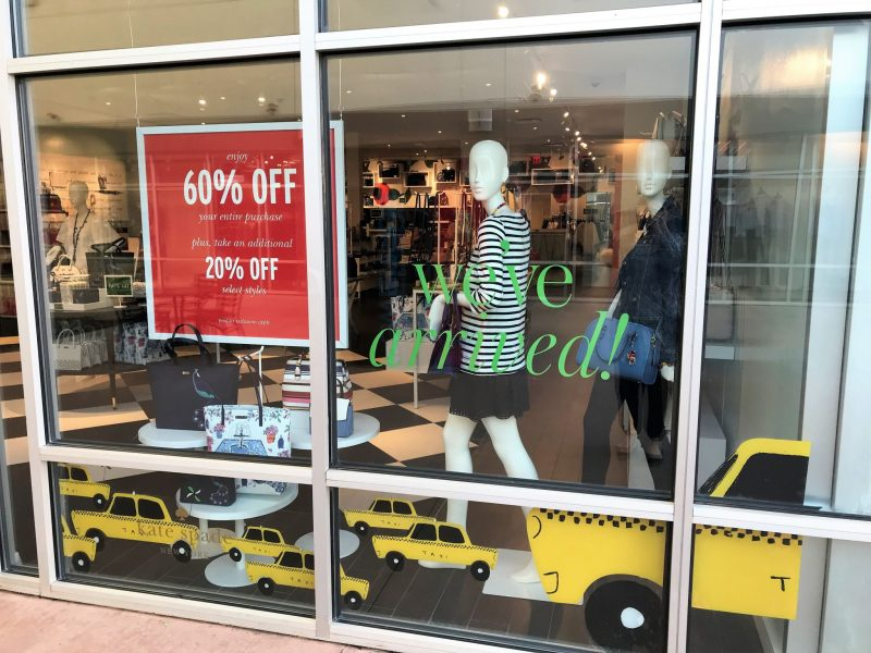 Kate Spade in Oklahoma City - OKC Outlets grand opening - JK Style