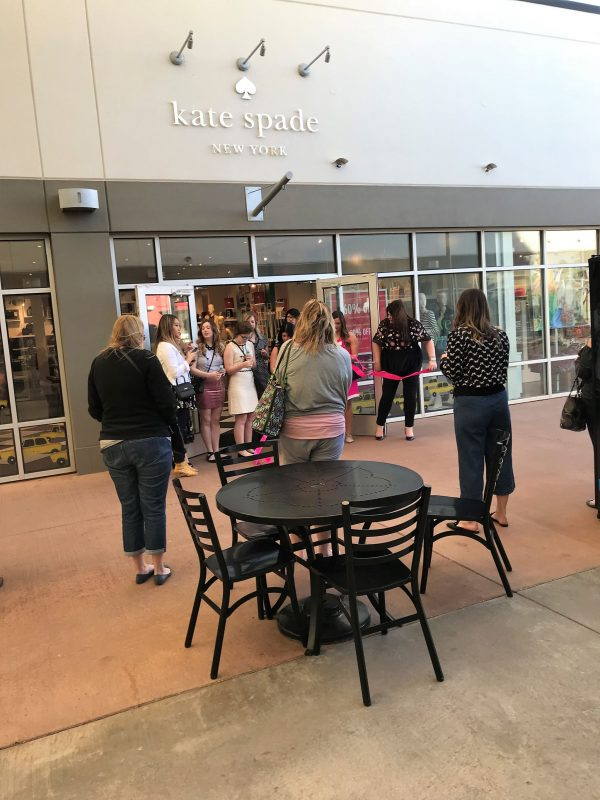 Kate Spade in Oklahoma City - OKC Outlets ribbon cutting - JK Style