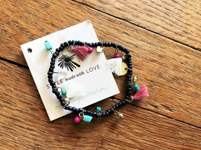 Dancing Charm Bracelet giveaway - Noonday Collection - JK Style
