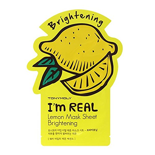 TONYMOLY Lemon brightening I'm Real mask - JK Style