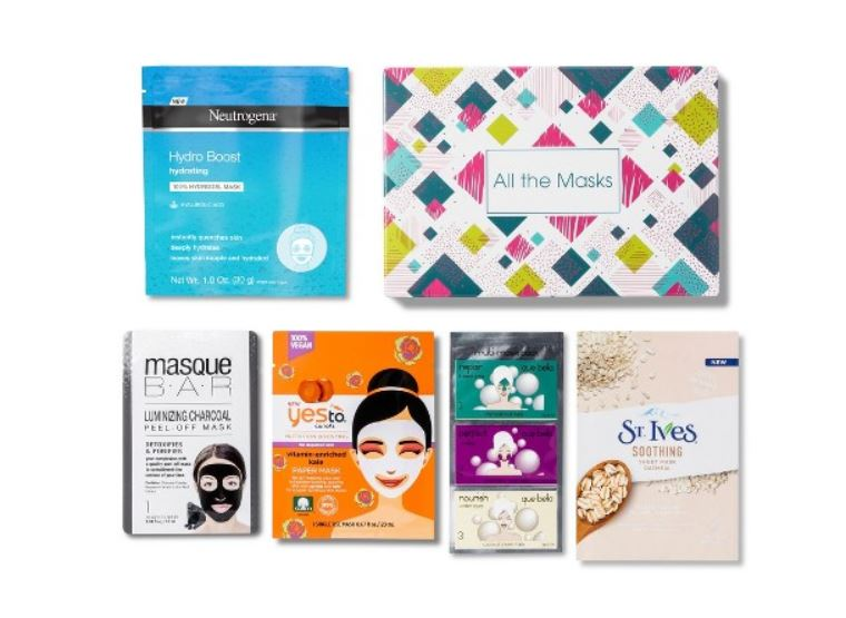 Target Beauty Boxes - All the Masks - JK Style