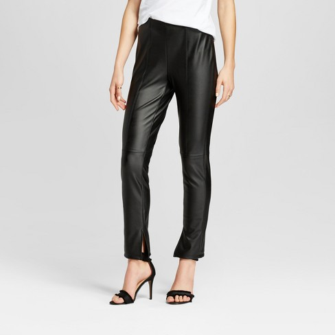 Target shopping - Who What Wear Leather Skinny Pants - JK Style