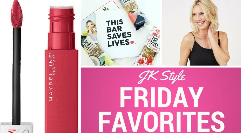 Friday Favorites May 11, JK Style