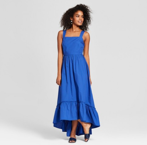 Friday Favorites - Who What Wear Ruffled Maxi Tank Dress - JK Style