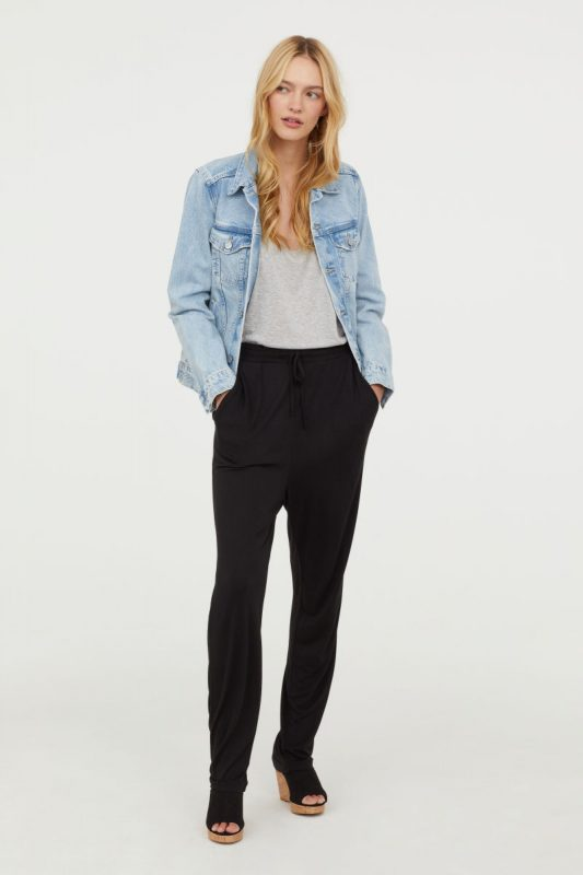 Jersey Joggers - Under $40 H&M Finds