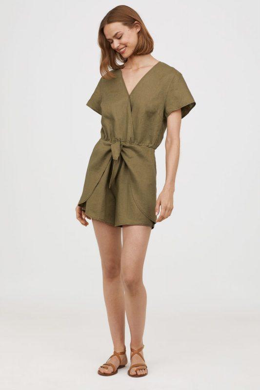 Linen Jumpsuit - Under $40 H&M Finds