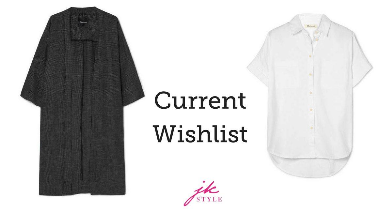 current wishlist