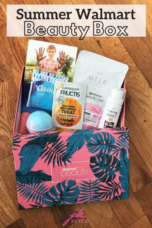 Summer 2018 Walmart Beauty Box review - JK Style